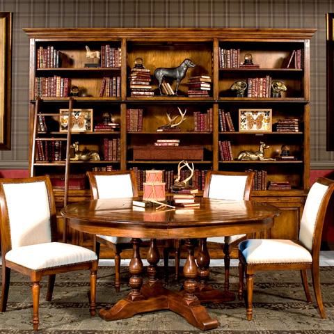 Sarreid Ltd. - Royal Library Cabinet - 26542