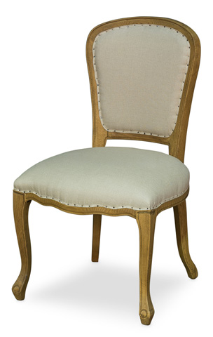 Sarreid Ltd. - Louis XIV Side Chair - 27707