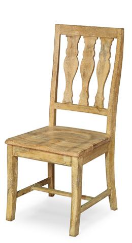Sarreid Ltd. - Homesteaders Side Chair - 28138