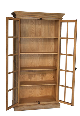 Sarreid Ltd. - Baliff Cabinet in Burnt Oak - 29185