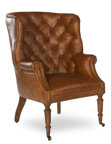 Image of Welsh Leather Chair