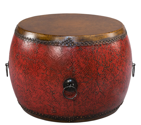 Sarreid Ltd. - Red Drum Side Table - 29800
