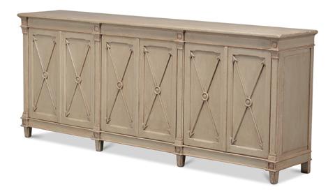 Sarreid Ltd. - Marksman Cabinet II - 29919