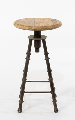 Sarreid Ltd. - Oil Rig Stool - 30044