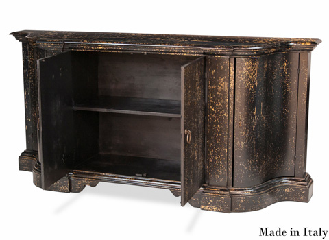 Sarreid Ltd. - Oswaldo Bowfront Sideboard - R041-50