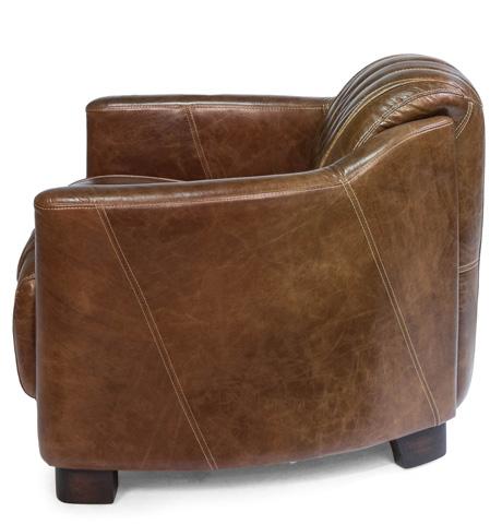 Sarreid Ltd. - Leather Club Chair - 30271