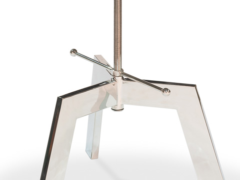 Sarreid Ltd. - Met House Adjustable Table - 30289