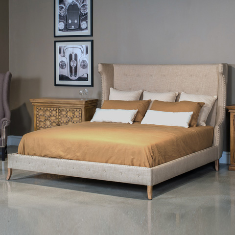 Sarreid Ltd. - Maubrook King Bed - CF026-40