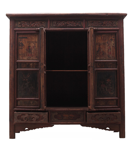 Sarreid Ltd. - Wooden Cabinet - SA13-0293