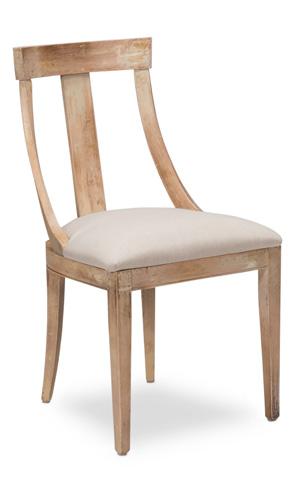 Sarreid Ltd. - Deco Side Chair - U003-01F01