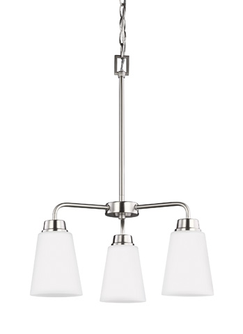Sea Gull Lighting - Three Light Chandelier - 3115203BLE-962