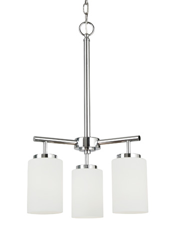 Sea Gull Lighting - Three Light Chandelier - 31160-05
