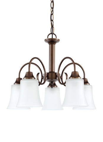 Sea Gull Lighting - Five Light Chandelier - 39808BLE-827