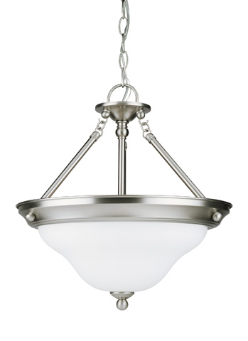 Sea Gull Lighting - Three Light Semi-Flush Convertible Pendant - 66062-962