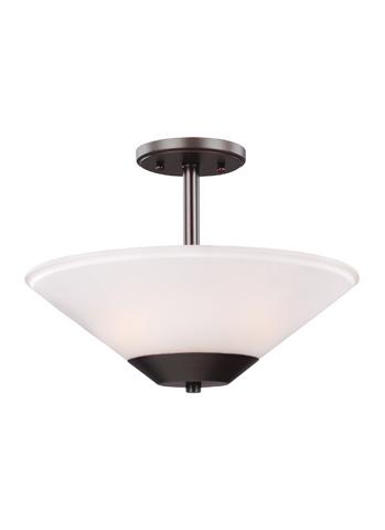 Sea Gull Lighting - Two Light Semi-Flush Convertible Pendant - 7711202-710