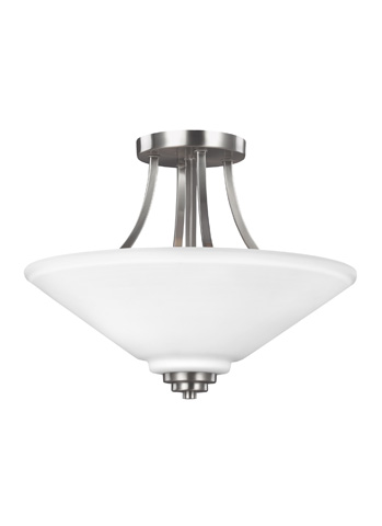 Sea Gull Lighting - Two Light Semi-Flush Convertible Pendant - 7713002-962