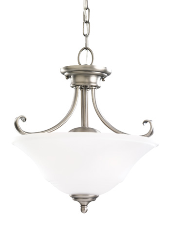 Sea Gull Lighting - Two Light Semi-Flush Convertible Pendant - 77380-965