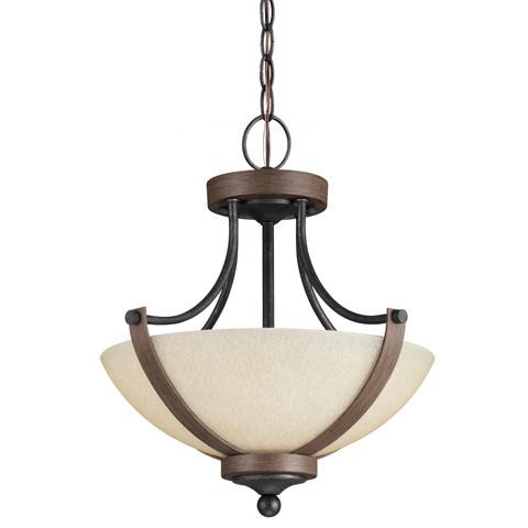 Sea Gull Lighting - Two Light Semi-Flush Convertible Pendant - 7780402-846