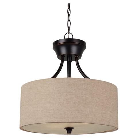 Sea Gull Lighting - Two Light Semi-Flush Convertible Pendant - 77952-710
