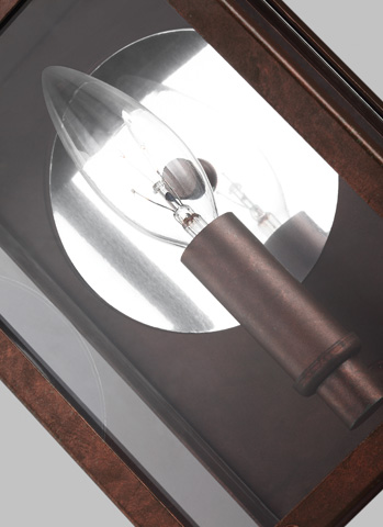 Sea Gull Lighting - One Light Outdoor Wall Lantern - 8514801-44
