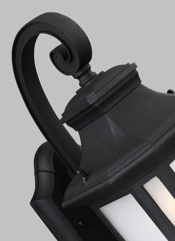 Sea Gull Lighting - Medium LED Outdoor Wall Lantern - 8636391S-12