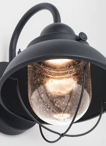 Sea Gull Lighting - Small LED Outdoor Wall Lantern - 887091S-12