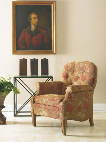 Image of Patterned Accent Chair