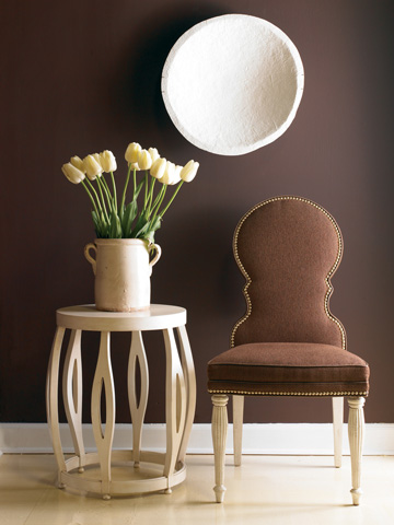 Image of Dining Side Chair with Nail Trim