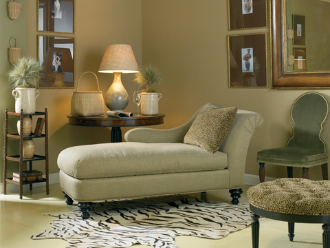 Sherrill Furniture Company - Left Arm Upholstered Chaise - DC66