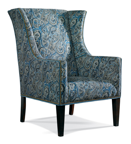 Sherrill Furniture Company - Wing-back Upholstered Chair - 1556-1