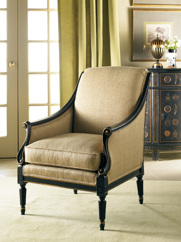 Sherrill - Carved Chair - 1146