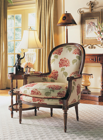Sherrill Furniture Company - Carved Chair - 1029
