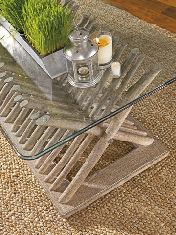 Stanley - Coastal Living - Driftwood Flats Cocktail Table - 062-75-02