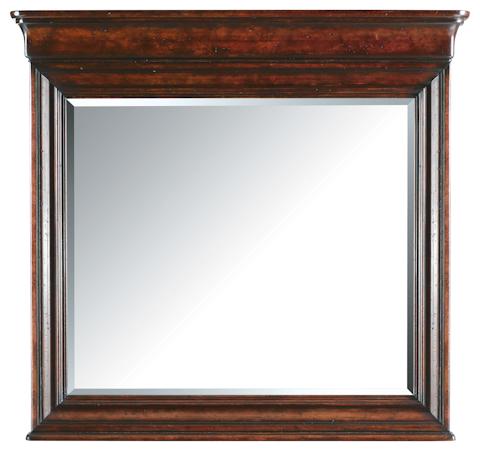 Stanley - Portfolio - Dressing Chest with Landscape Mirror - 058-13-06/30