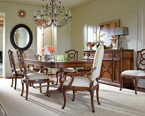Stanley Furniture - Tuileries Heirloom Cherry Side Chair - 222-11-60