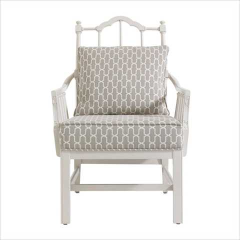 Stanley Furniture - Ropemakers Chippendale Planter's Chair - 302-25-74