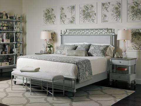 Stanley Furniture - Botany California King Bed - Lamb's Ear - 340-53-46