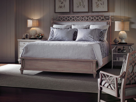 Stanley Furniture - Botany California King Bed - Rose - 340-73-46