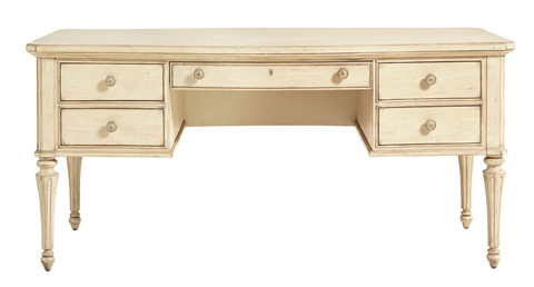 Stanley - Portfolio - Writing Desk in Vintage White - 007-25-03