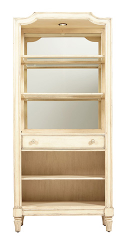Stanley - Portfolio - Bookcase in Vintage White - 007-25-18