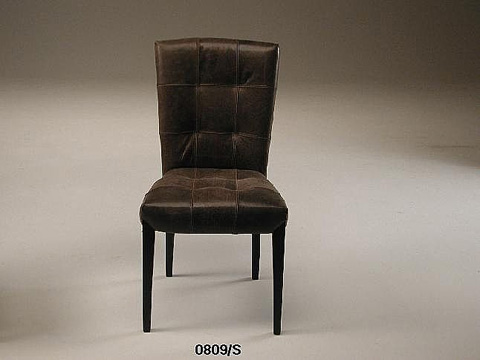 Stone International - Square Tufted Side Chair - 0809/S