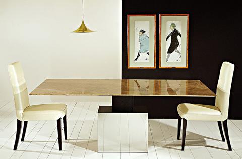 Stone International - Rectangular Dining Table - 3069