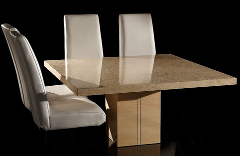 Stone International - Rectangular Dining Table - 3146