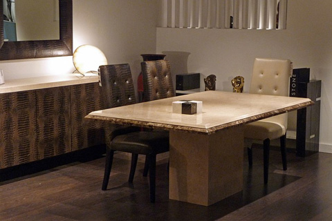 Stone International - Square Dining Table - 3636/SQ
