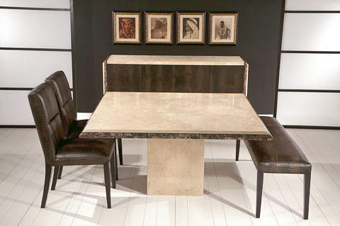 Stone International - Dining Table - 3636