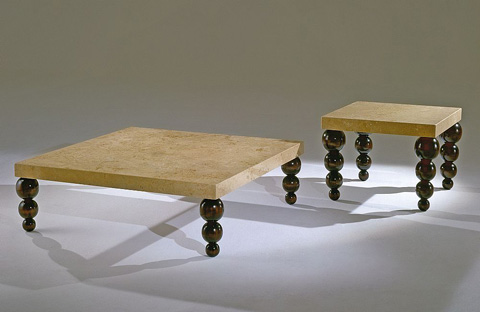 Stone International - Square Cocktail Table - 9393