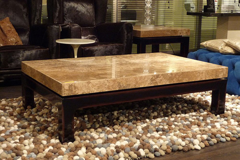 Stone International - Cadi Cocktail Table - 0470LAB