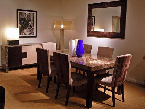 Stone International - Cadi Dining Table - 0476LAB