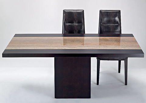 Stone International - Hermes Dining Table - 7296