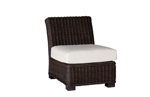 Summer Classics - Rustic Sectional Slipper Chair - 3768